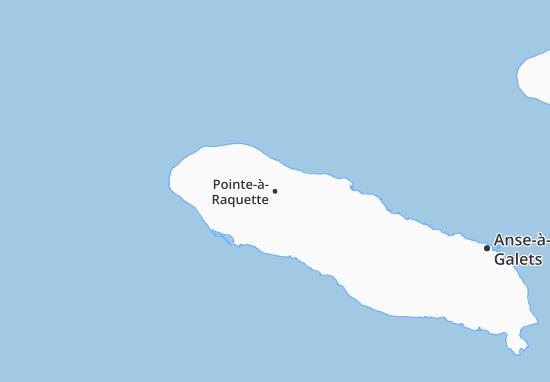 Carte-Plan Pointe-à-Raquette