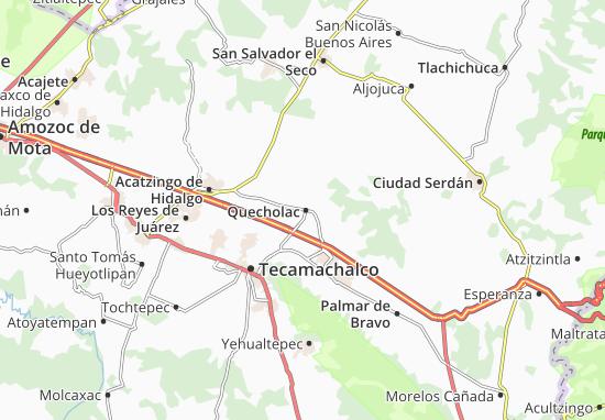 Carte-Plan Quecholac
