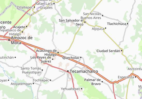 Carte-Plan San Pablo de las Tunas