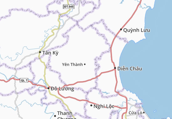 Carte-Plan Văn Thành