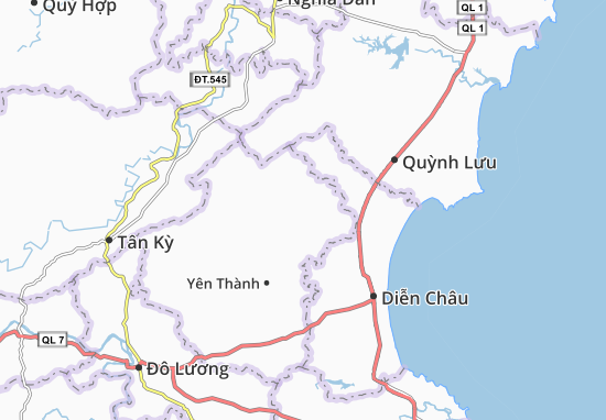 Carte-Plan Mã Thành