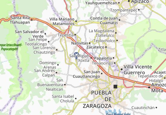 Carte-Plan Tlaltenango