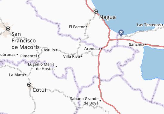 Villa Riva Map