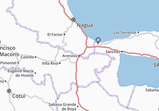 Arenoso Map