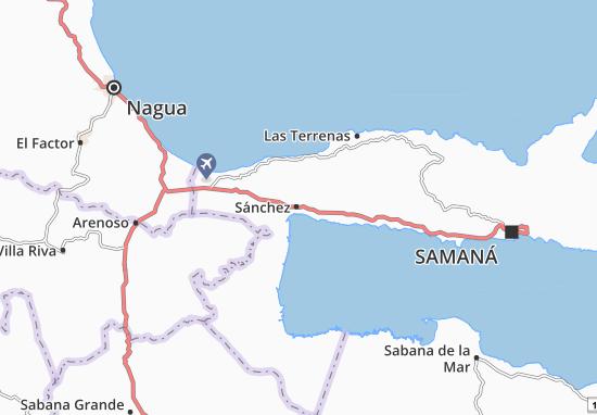 Sánchez Map