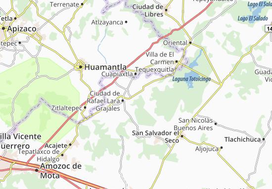 Carte-Plan San José Chiapa