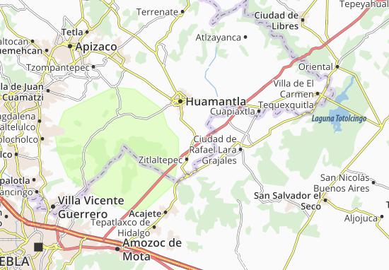 Carte-Plan Ixtenco