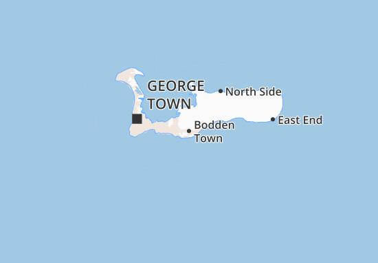 Mapa Plano Bodden Town