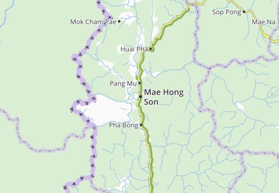 Mappe-Piantine Mae Hong Son