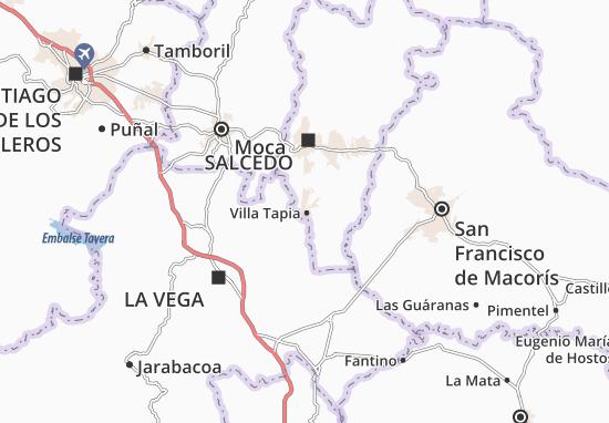 Mappe-Piantine Villa Tapia