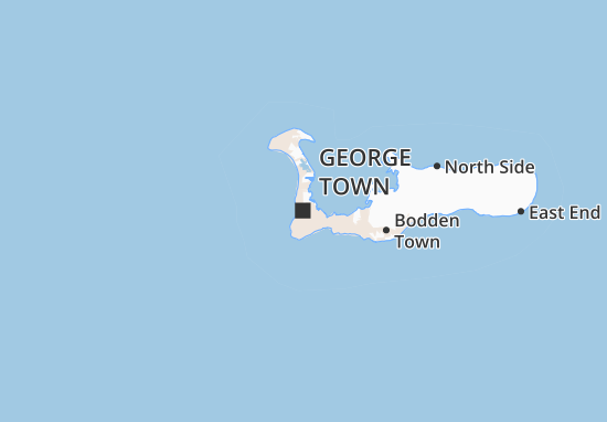 Mapa Plano George Town
