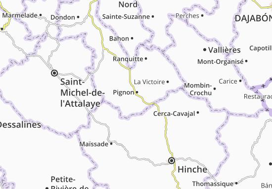 Carte-Plan Pignon
