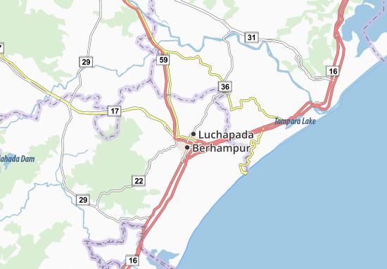 Luchapada Map