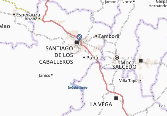 Kaart Plattegrond Puñal