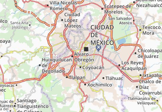 Benito Juarez Map Detailed Maps For The City Of Benito Juarez