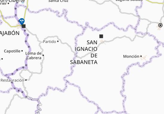 Mapas-Planos Villa Los Almácigos