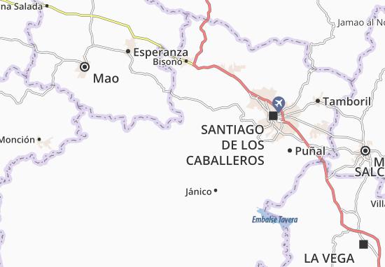 San José de las Matas Map
