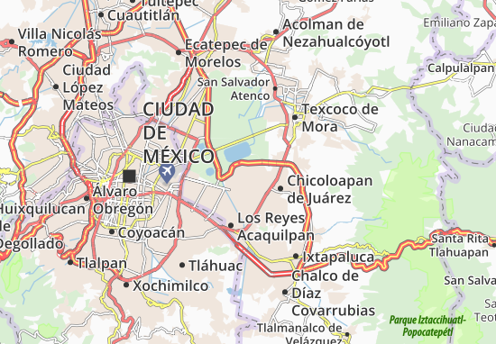 Carte-Plan Chimalhuacán