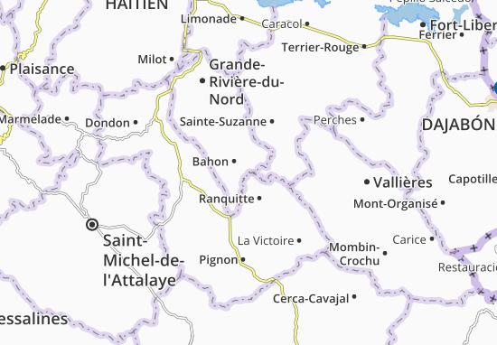 Bahon Map