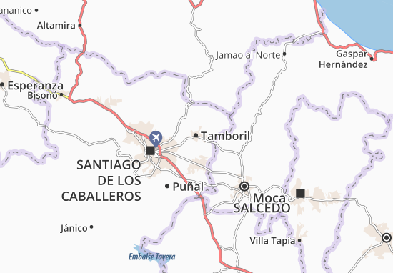 Tamboril Map