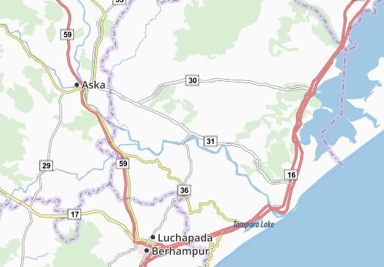 Purushottampur Map