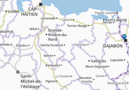 Sainte-Suzanne Map