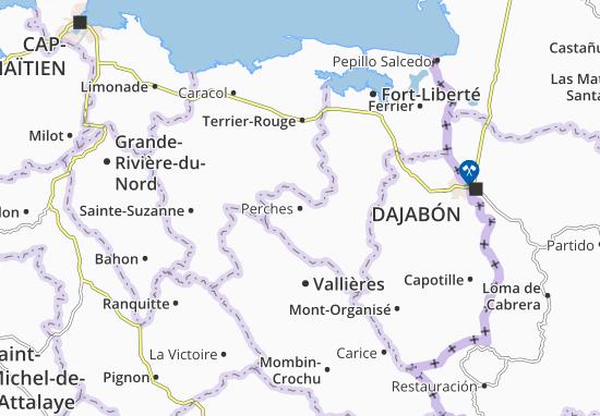 Perches Map