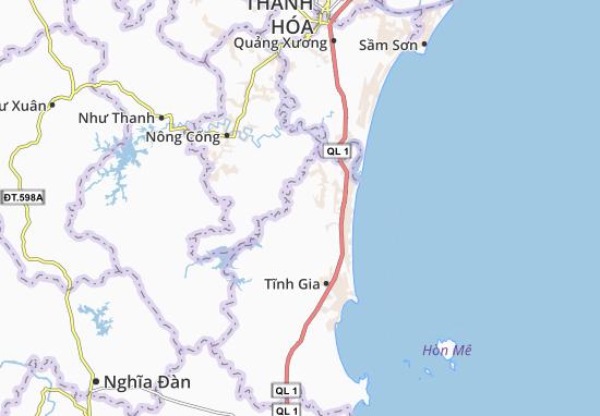 Carte-Plan Anh Sơn