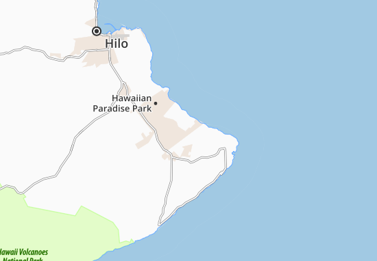 Hawaiian Beaches Map