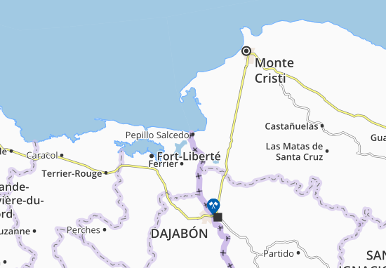 Pepillo Salcedo Map
