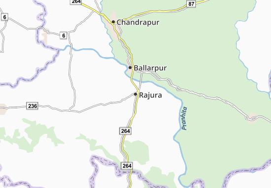 Kaart Plattegrond Rajura