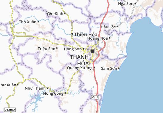 Đông Văn Map