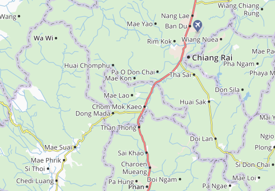 Mae Lao Map