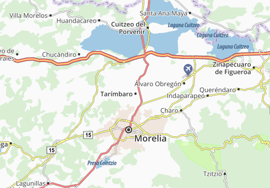 Carte-Plan Tarímbaro