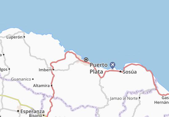 Mapas-Planos Puerto Plata