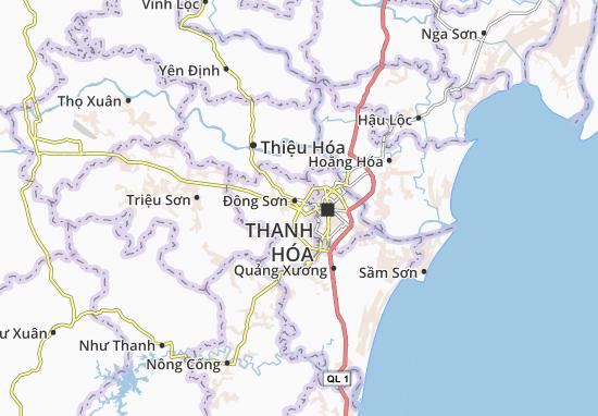 Đông Tân Map