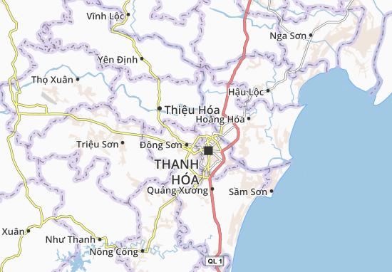 Đông Lĩnh Map