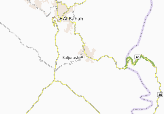 Mapa Plano Baljurashi