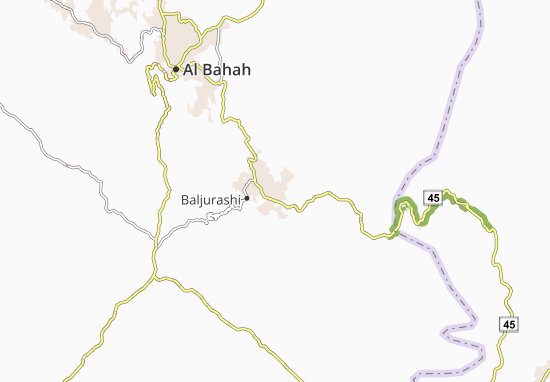 Carte-Plan Al Bukair