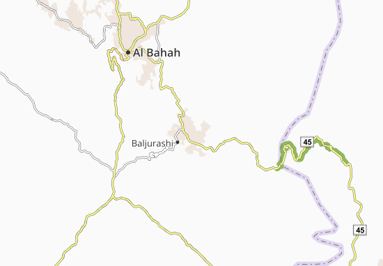 Carte-Plan Al Atashin