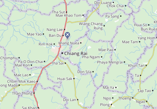 Wiang Chai Map