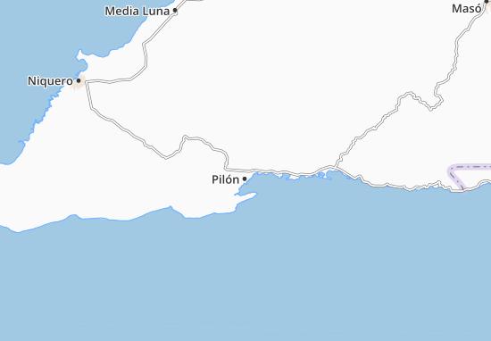 Pilón Map