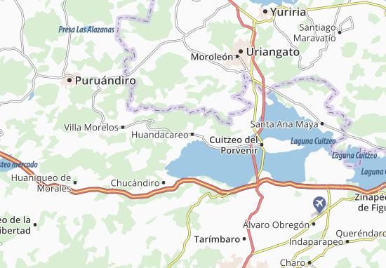 Carte-Plan Huandacareo