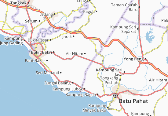Carte-Plan Air Hitam