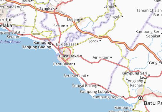 Bukit Bakri Map