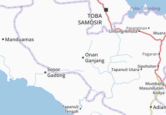 Mappe-Piantine Onan Ganjang