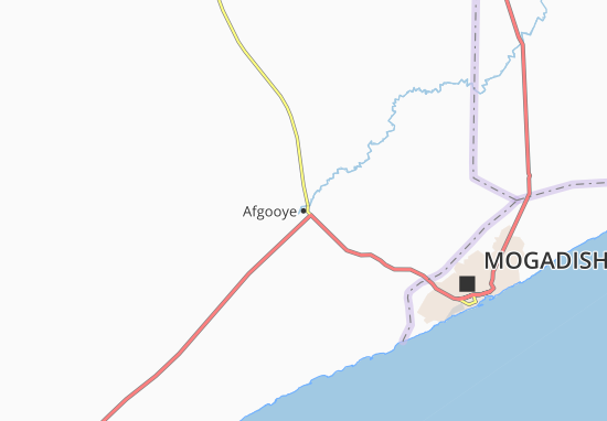 Carte-Plan Afgooye