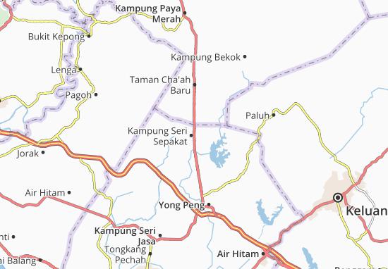 Mappe-Piantine Kampung Seri Sepakat
