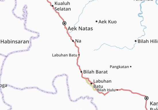 Kaart Plattegrond Labuhan Batu