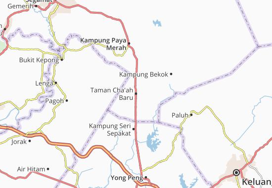 Mapas-Planos Taman Cha'ah Baru